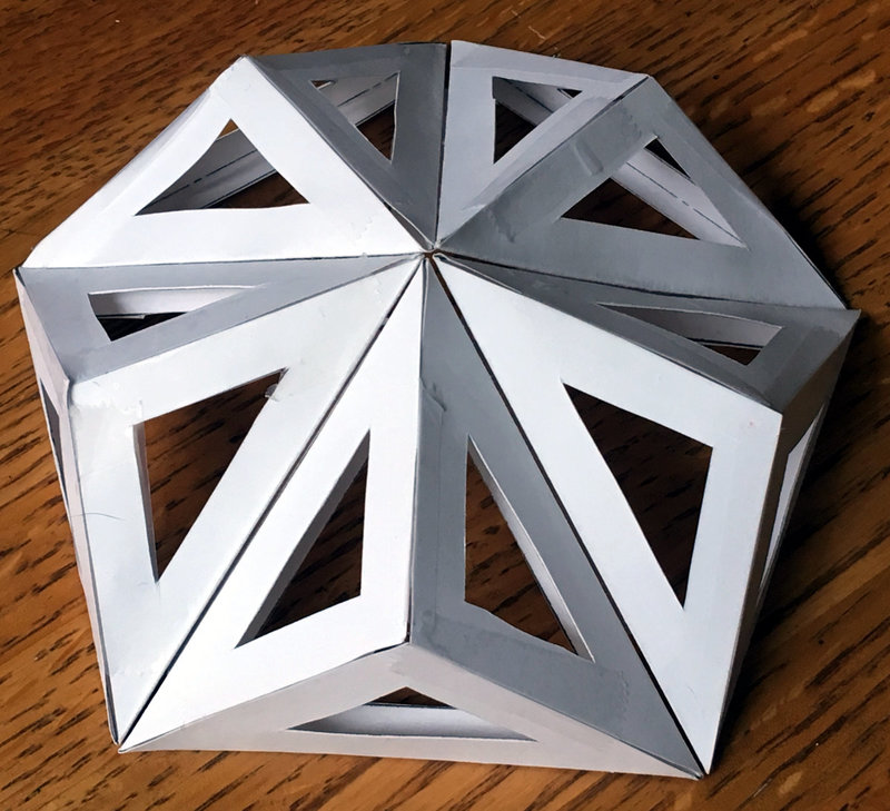 Geodesic Dome Template: The Reinforced Pentakis Dodecahedron Dome